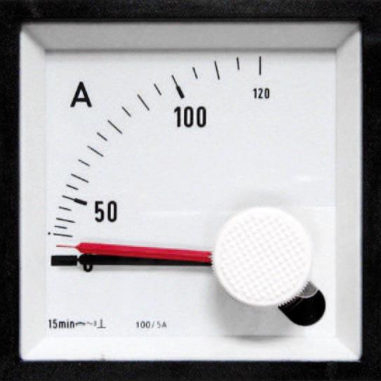 Bimetall Messgeräte für Wechselstrom