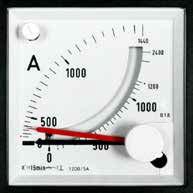Bimtall Dreheisen Messgeräte für Wechselstrom