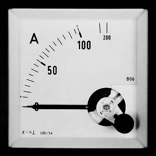 Dreheisen Messgeäte für Wechselstrom oder Wechselspannung 45-65 Hz
