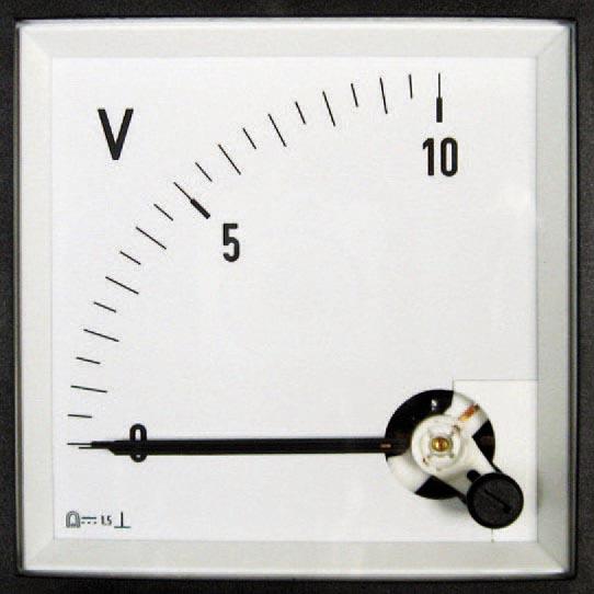Drehspul Messgeräte für Gleichstrom oder Gleichspannung