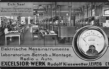 Rudolf Kiesewetter Messtechnik Geschichte