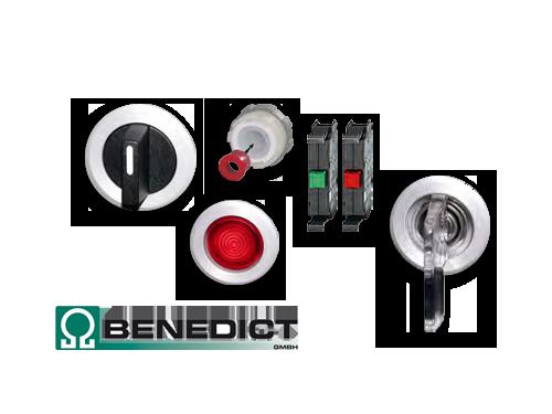Befehls- und Meldegeräte [Ø 30,5 mm] von Benedict
