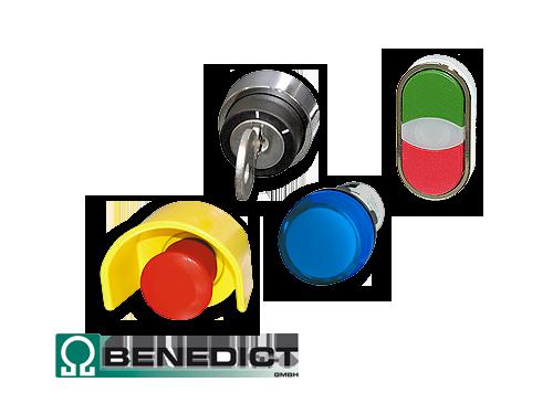 Befehls- und Meldegeräte [Ø 22,5 mm] von Benedict