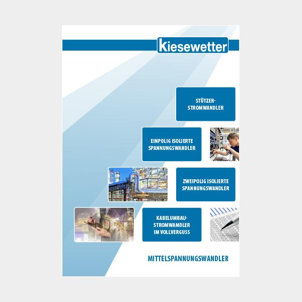 Kiesewetter Messtechnik Katalog: Mittelspannungswandler