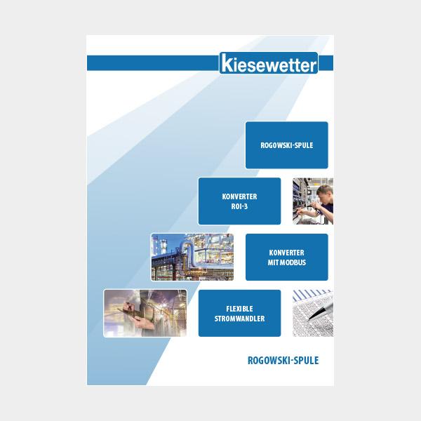 Kiesewetter Messtechnik Katalog: Rogowski-Spulen