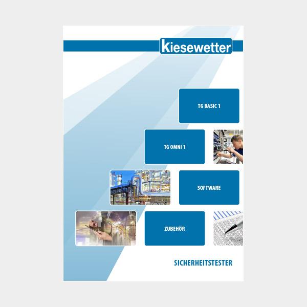 Kiesewetter Messtechnik Katalog: Sicherheitstester