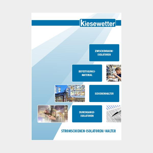 Kiesewetter Messtechnik Katalog: Stromschienen, Isolatoren und Halter